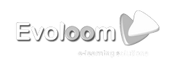 Logotipo Evoloom e-learning solutions